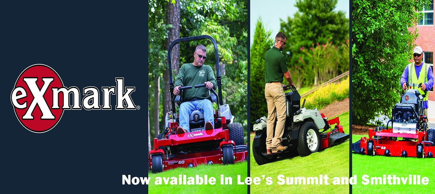 ExMark Mowers available in Lee's Summit and Smithville