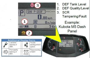 Kubota SCR DEF Quick Guide   Coleman Equipment